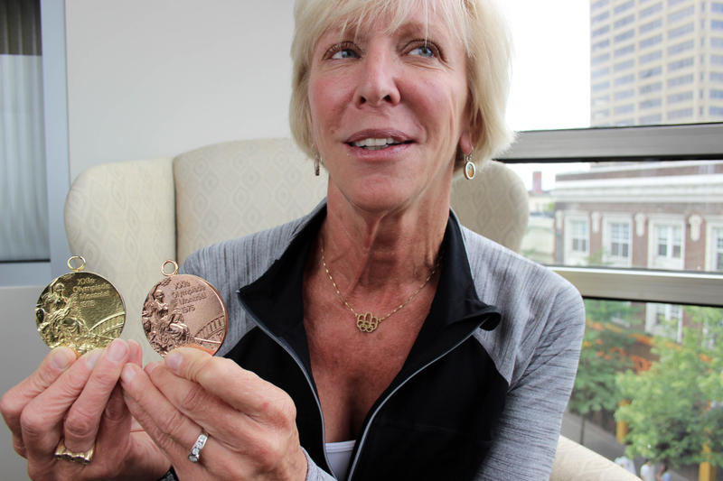 Wendy Boglioli won bronze in the Women's 100 metres Butterfly and gold in the Women's 4 × 100 metres Freestyle Relay at the 1976 Montreal Olympics.