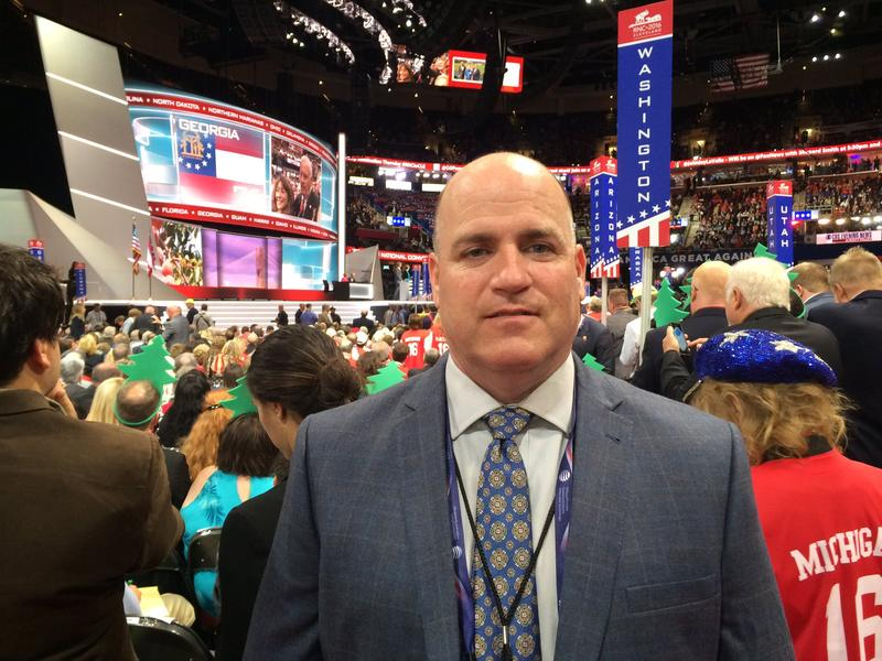 Washington state Republican delegate Eric Minor says he will not be voting for Donald Trump in November.