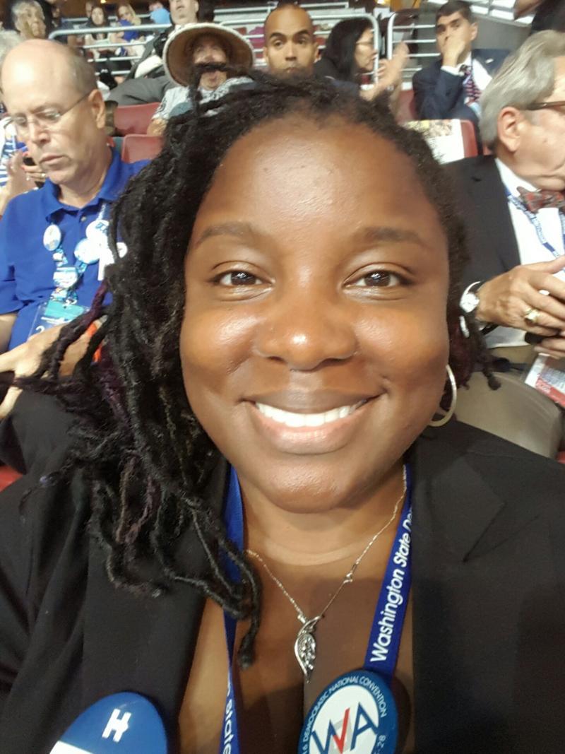 Washington Democratic delegate Jamian Smith.