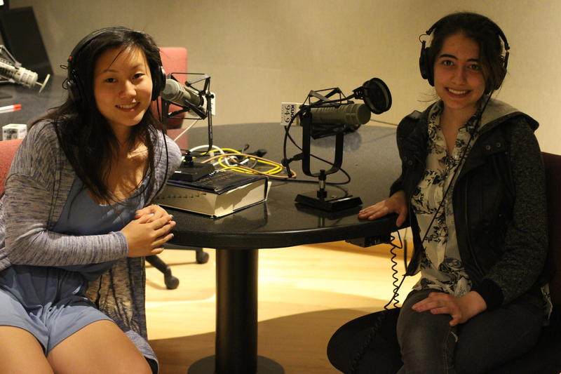 RadioActive podcast hosts Maya Konz and Surya Hendry.