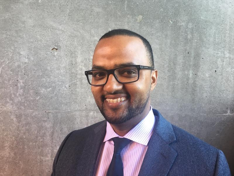 Habtamu Abdi, the Seattle Police Department's East African Community Liaison