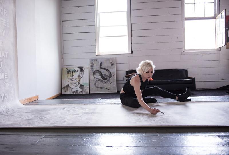 Artist Amanda Manitach