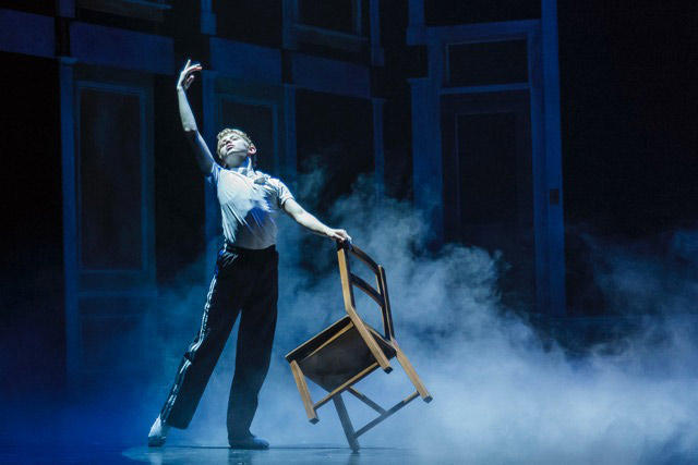 Philipp Mergener, 13, as the lead in the Village Theatre production of the hit musical 'Billy Elliot.'