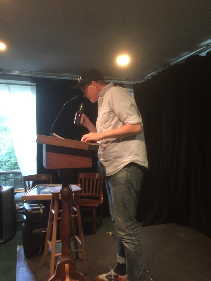 Poet Matthew Dickman at Hugo House