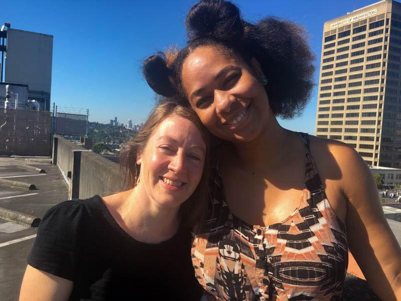 Alissa Wehrman and Eula Scott Bynoe.