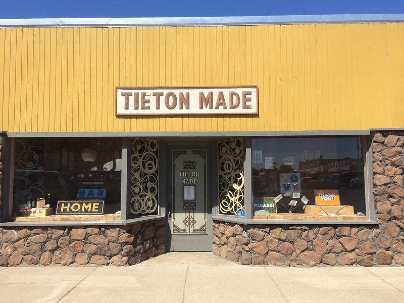 A warehouse in Tieton, WA