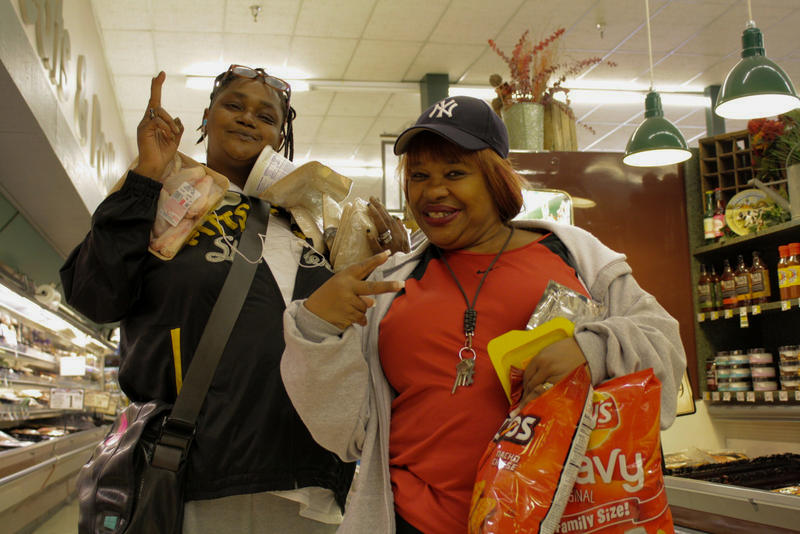 Bama Chester and Patsy Tyler have long been fans of the Red Apple grocery store in the Central District, which has held up against the last decade of extreme gentrification.