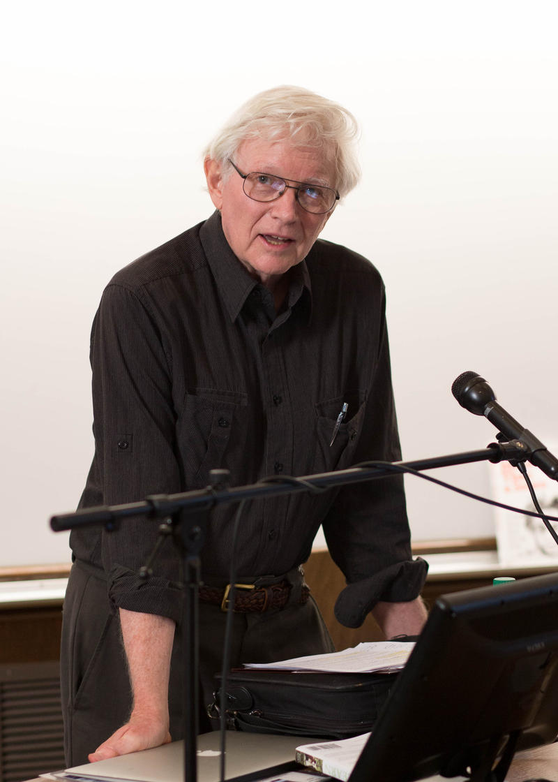 Peter Gray at UW's Gowen Hall