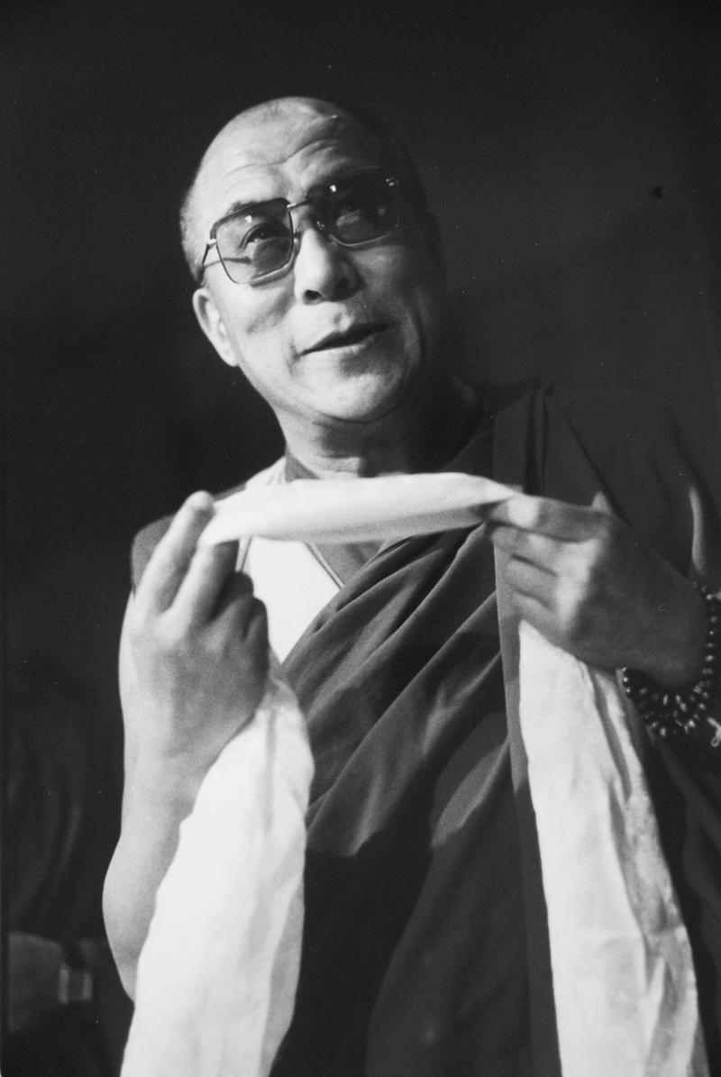 The Dalai Lama, Seattle, 1993.