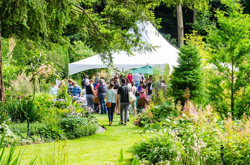 Attendees at the Powellswood Storytelling Festival