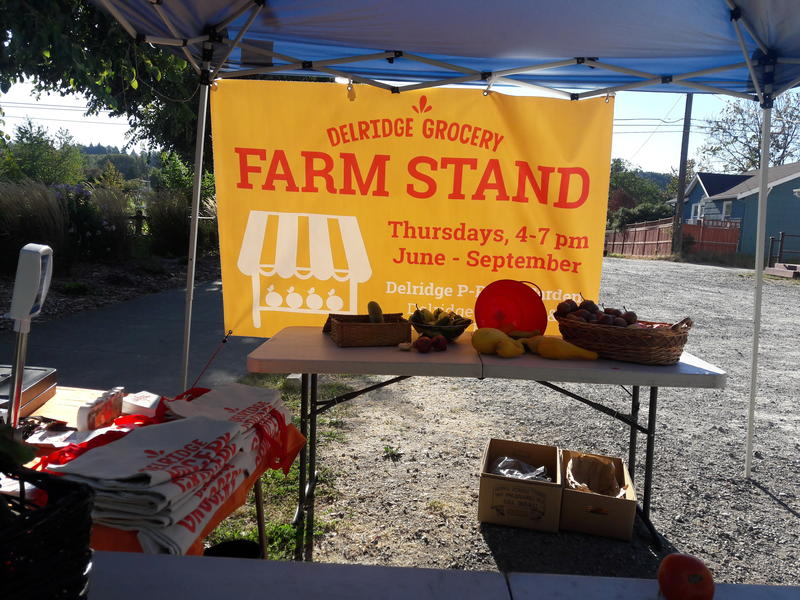 Until the co-op opens, residents can buy fresh produce from the Farm Stand, but it only runs through September.