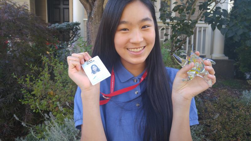 Volunteering at the Seattle Aquarium helped Grace Zheng overcome her fear of talking.