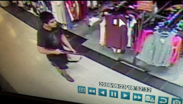 Police are asking for information about this man, believed to be the shooter at Cascade Mall in Skagit County.