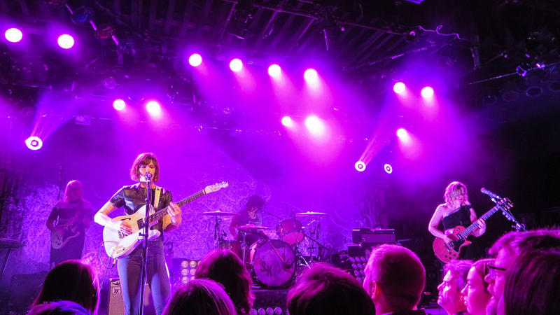 The band Sleater-Kinney is one of the most famous products of the 90s punk scene in Olympia, Washington.
