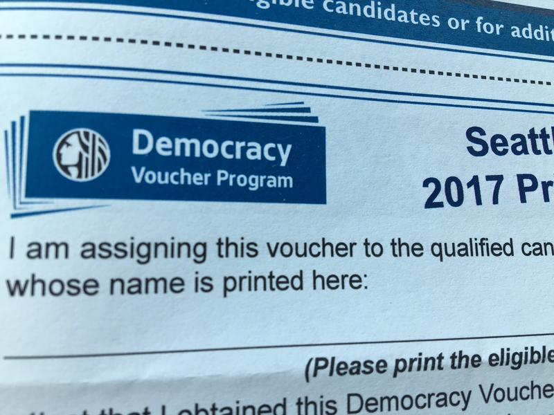 A Seattle democracy voucher.