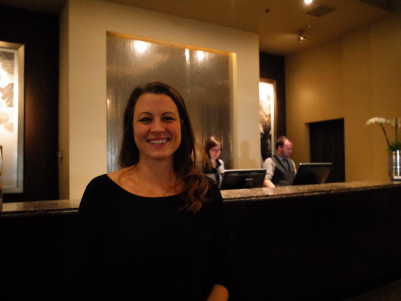 Seattle Hotel Association president Jenne Oxford, at Seattle's Alexis Hotel.
