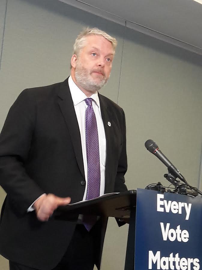 Washington Democrats chair Jaxon Ravens says they're prepared to sue Pierce County.