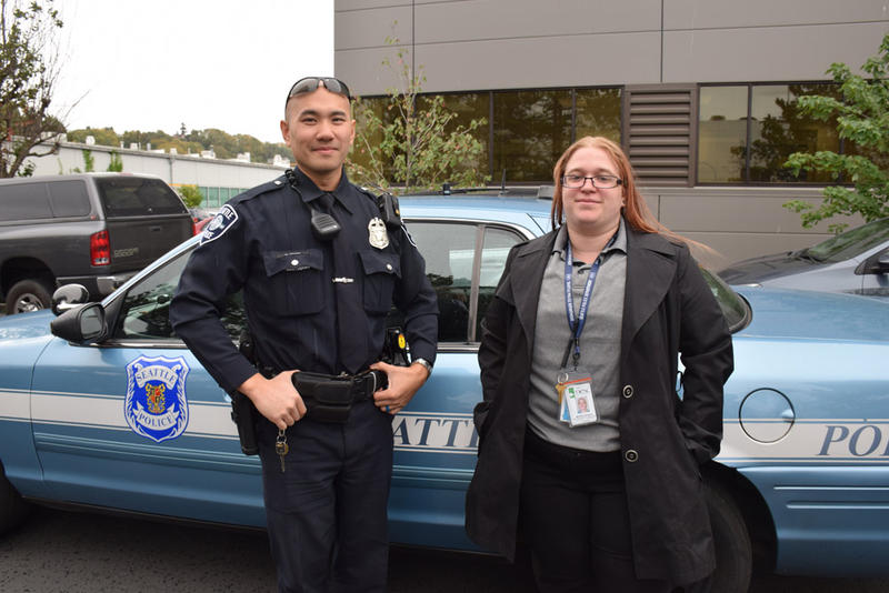 Under new crisis intervention policies, Seattle Police Officer Louis Chan partners with Mariah Andrignis, a social worker.
