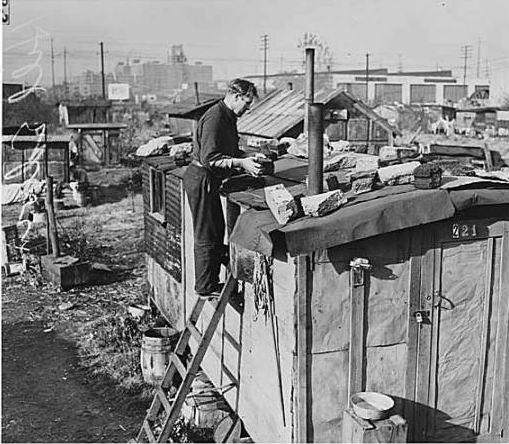 Seattle's Hooverville, 1939