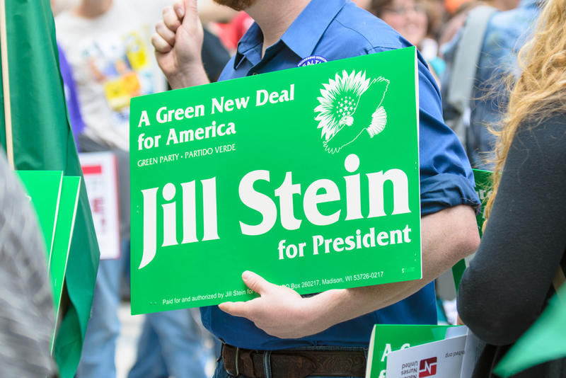 Jill Stein is running for president as the Green Party candidate.