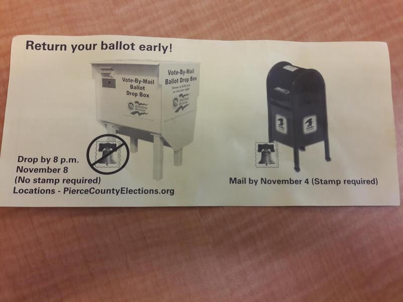 Pierce County ballot insert.
