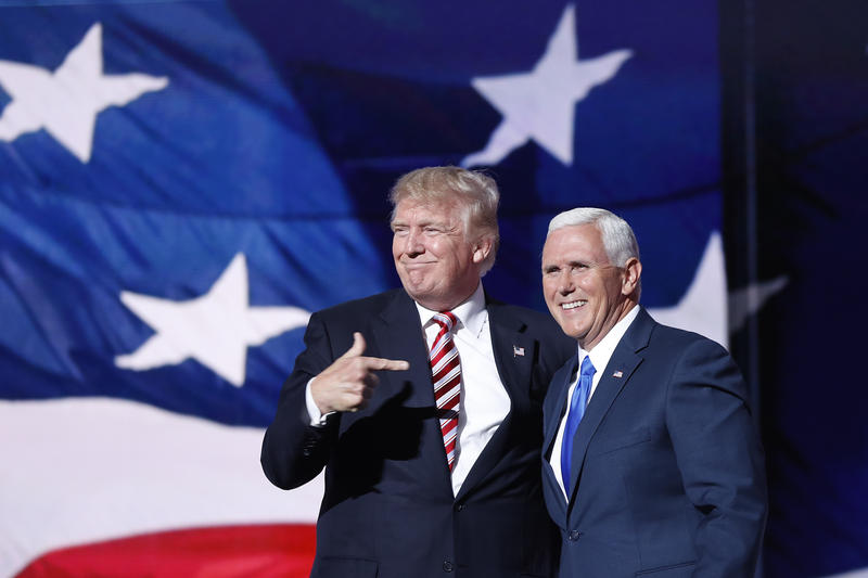 Donald Trump and running mate Mike Pence won the White House on late Tuesday, Nov. 8, 2016
