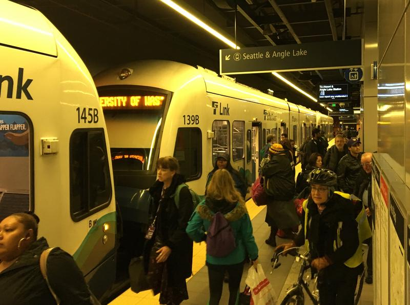 Sound Transit's University of Washington light rail station