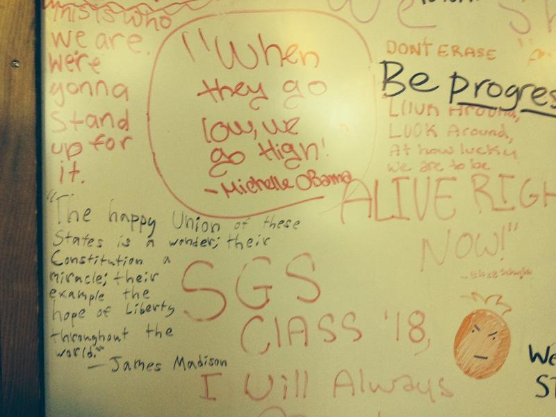 Seattle Girls School students write about their feelings following Donald Trump's victory.