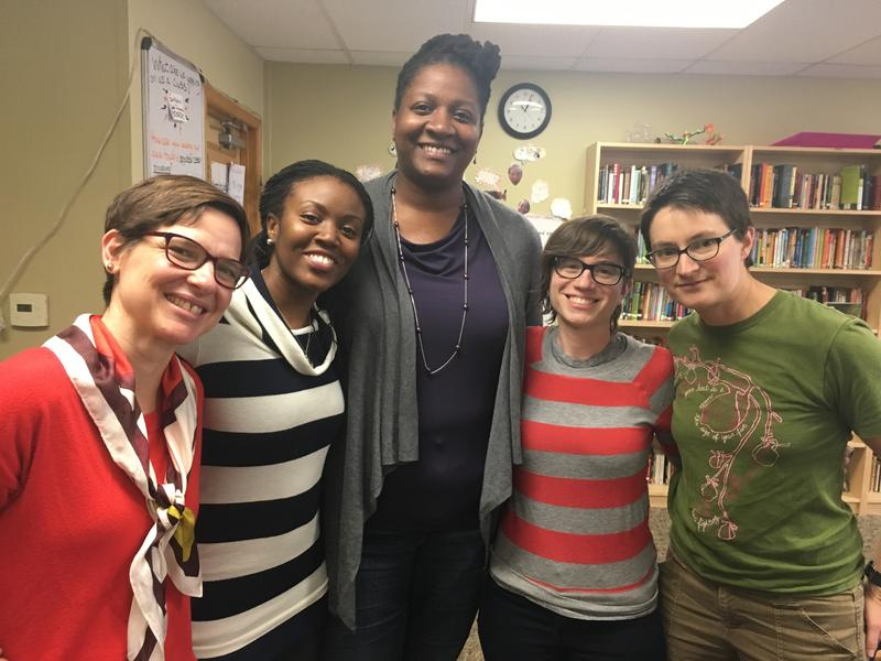 Faculty and staff at Seattle Girls' School Barbara Frailey, Dara McLurkin, Brenda Leaks, Janet Miller and Esther Andrews share their students' reactions to Trump's victory.