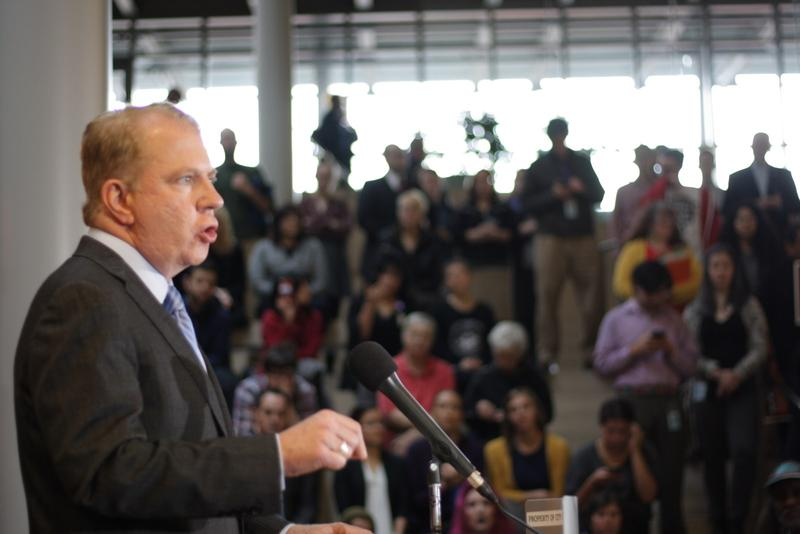 Seattle Mayor Ed Murray will fight to protect marriage equality in Seattle, along with minority and immigrant rights.