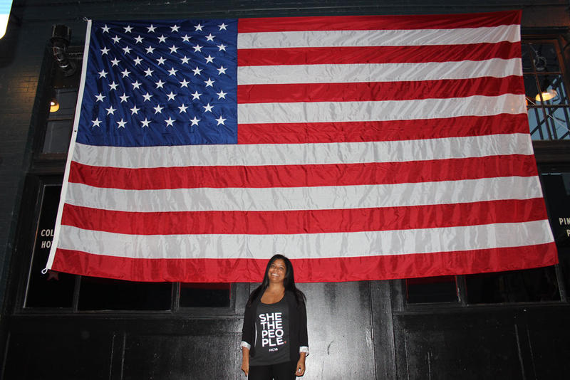 Kemi Adeyemi, who lives near Pike Place Market, was excited early Tuesday night -- before results for Donald Trump came in.