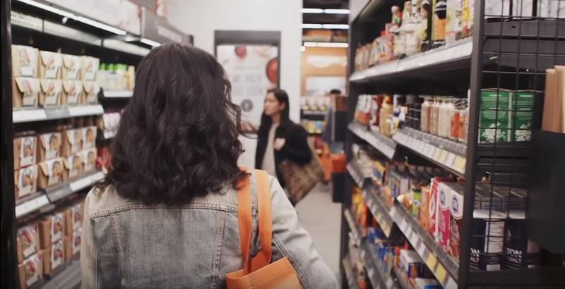 Amazon released an online ad for their convenience store, Amazon Go.