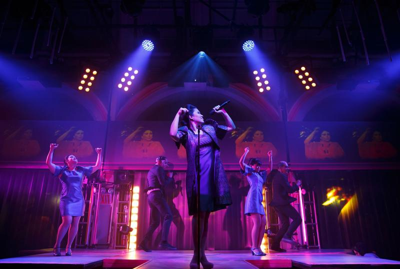 """""""Here Lies Love"""" at Public Theater, NYC"""