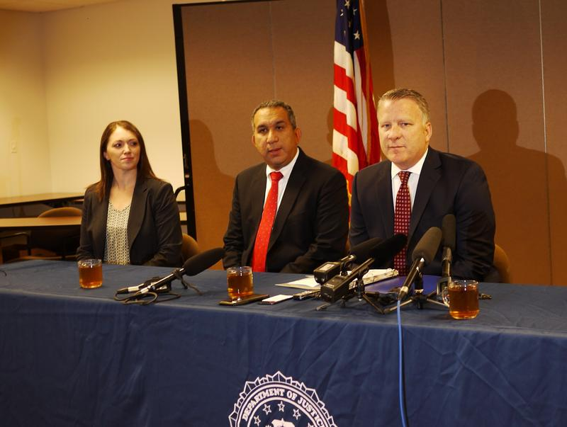Jay S. Tabb, Jr. (far right) heads the FBI's Seattle office.