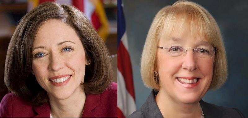 Washington Senators Maria Cantwell and Patty Murray