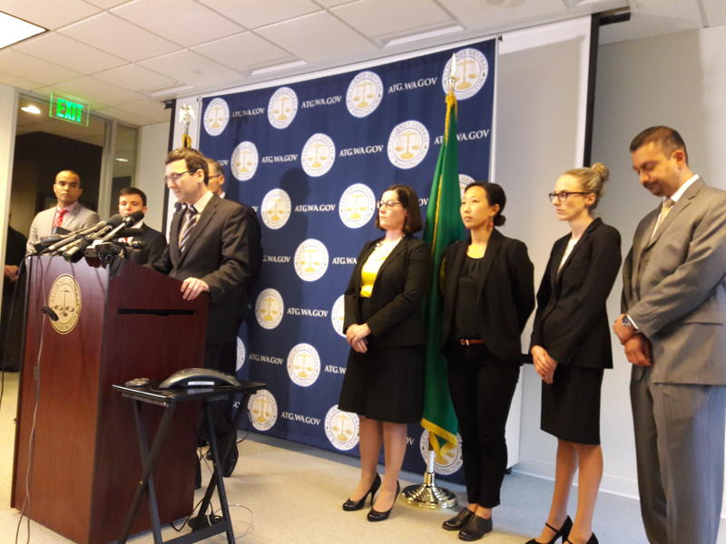 Washington state Attorney General Bob Ferguson has filed a lawsuit against the Trump Administration. The suit alleges the Executive Order is harming Washington residents and damaging the state's economy.