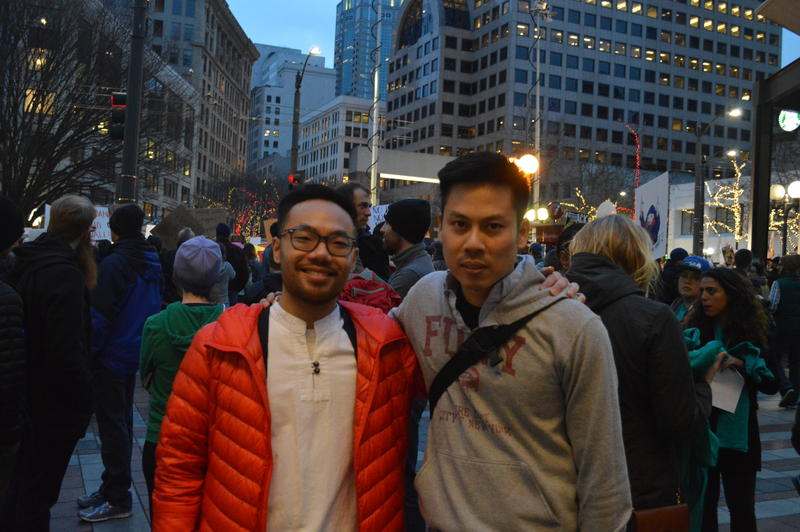 Jefferey Vu and Tuan Vu at Westlake Park
