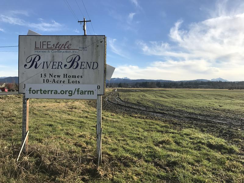 'We're so used to seeing signs going up on farms saying 'Site of a new subdivision,' said Gene Duvernoy, founder and president of Forterra. 'In this case, you saw a sign go up on subdivision land saying 'Site of a new farm.''
