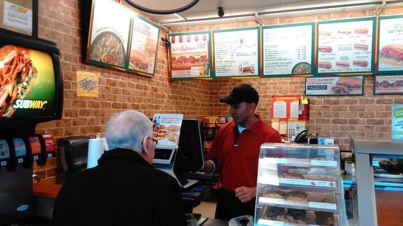 Karam Maan says his Subway franchise has been hit hard by wage increases in Seattle