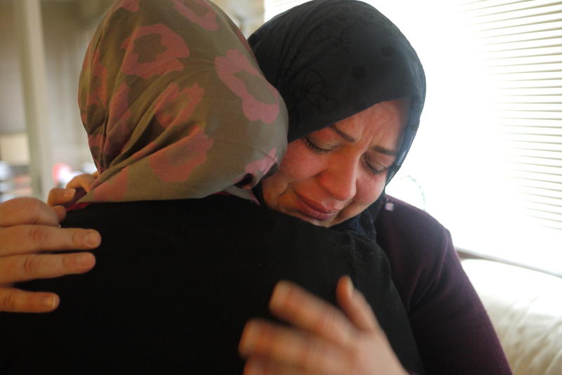 This Syrian mother does not know when her family will be reunited again. Click through for more photos taken by her 11-year-old daughter, Alaa.