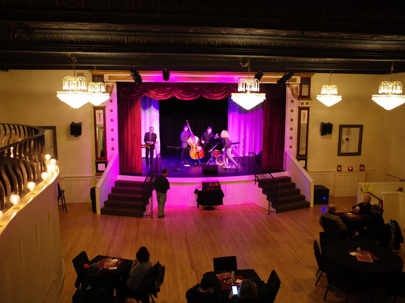Yes, there was operatic singing here once. Marysville bought the city's historic Opera House from a private owner. Now it's a place for jazz nights, craft classes, weddings and parties.