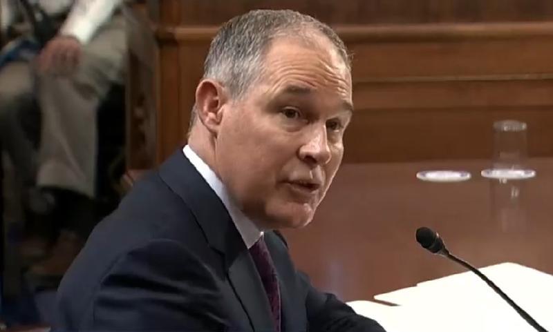 Oklahoma Attorney General and EPA Administrator nominee Scott Pruitt