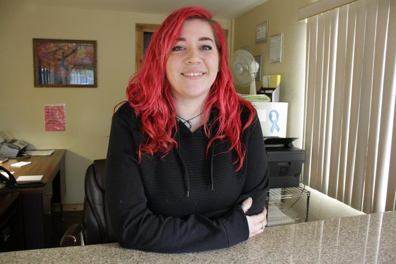 Amanda Batterson of Skip's Everett Towing has her doubts about shoulder driving, which would provide congestion relief to commuters living north of Seattle.
