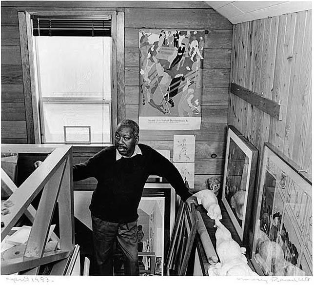 Jacob Lawrence in the Studio, 1983