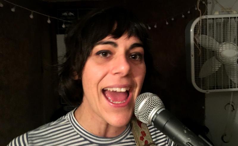 Wimps singer/ guitarist Rachel Ratner