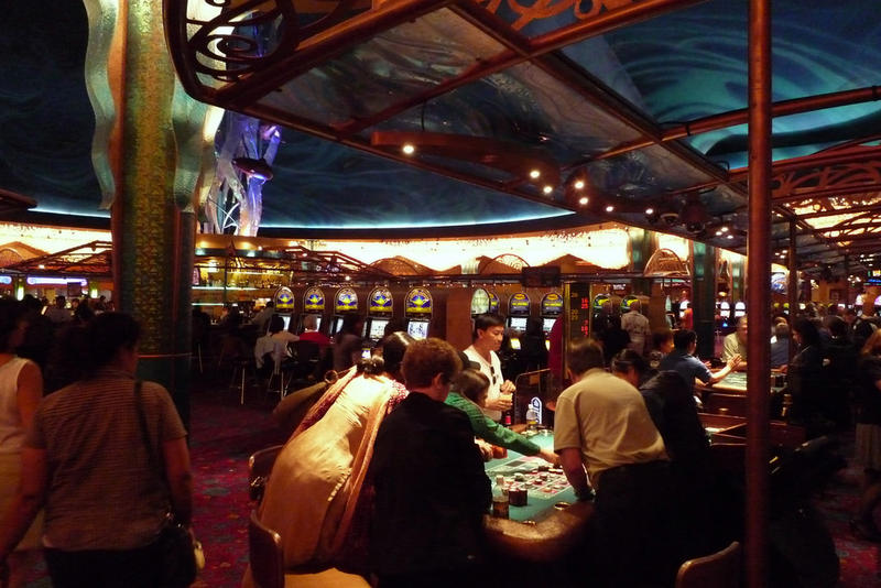 Inside the Tulalip Casino near Marysville