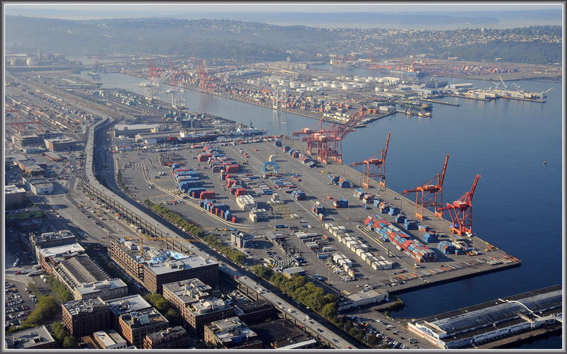 The Port Of Seattle's waterfront operations