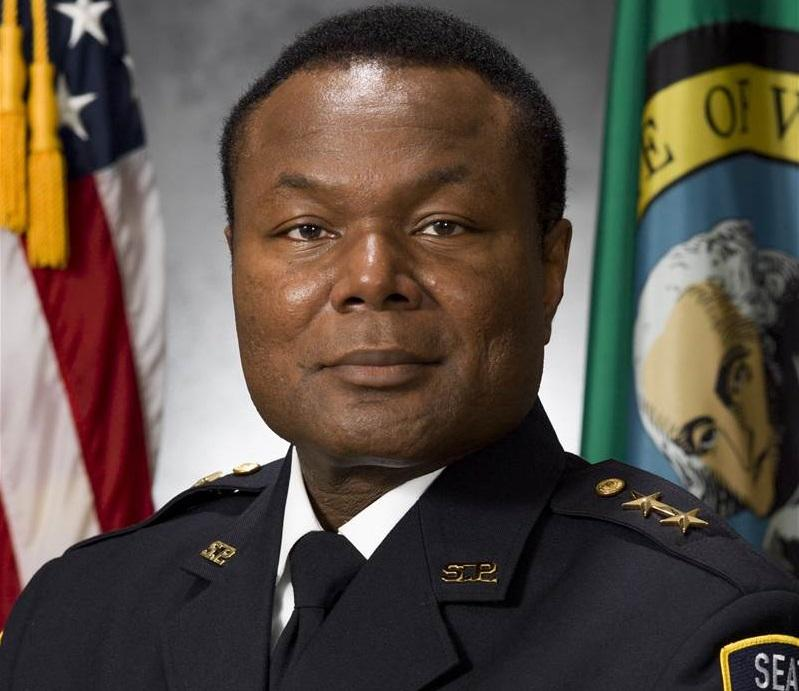 Assistant Chief Perry Tarrant of the Seattle Police Department.