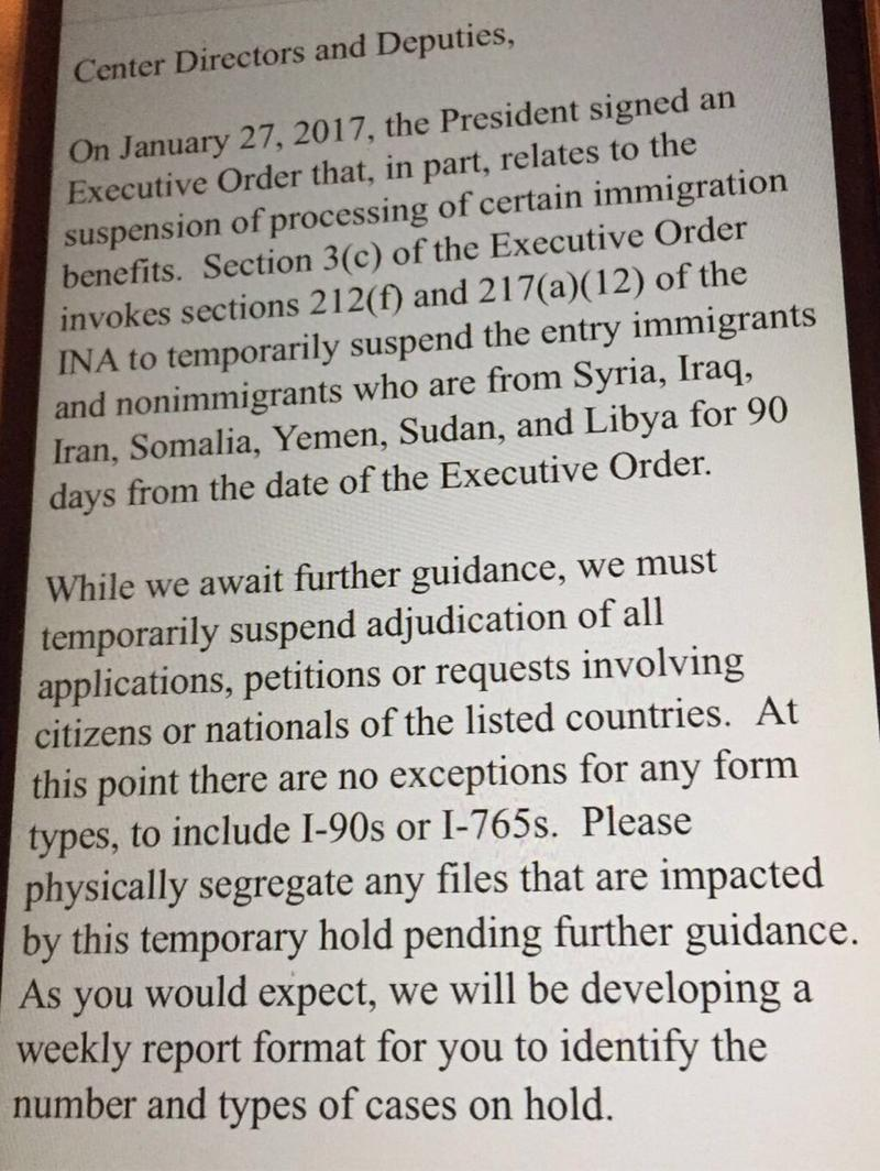 How trumps refugee ban is affecting iranians in the northwest courtesy northwest immigrant rights project yadclub Image collections