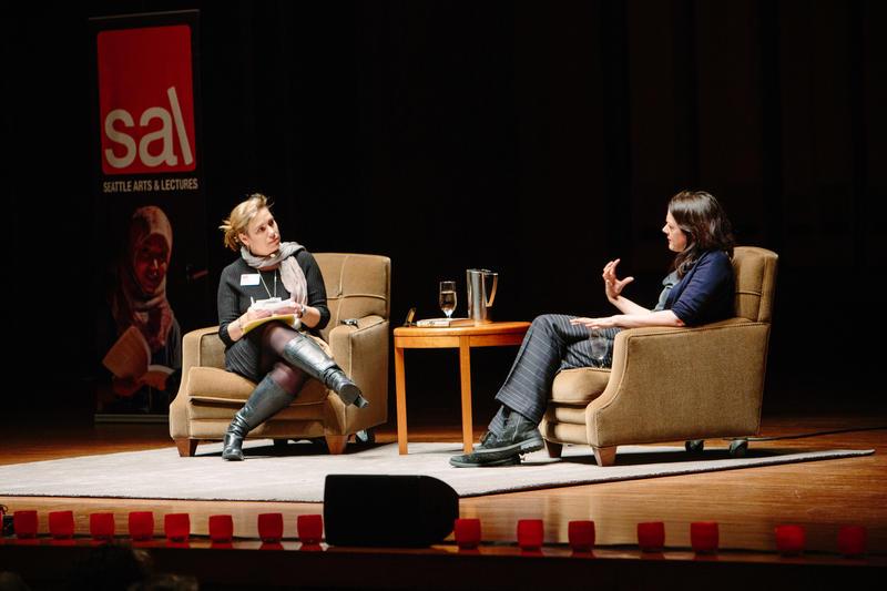Ruth Dickey and Helen Macdonald at Benaroya Hall